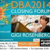 Author and Artists' Coach Gigi Rosenberg to Visit Broward County, 5/27