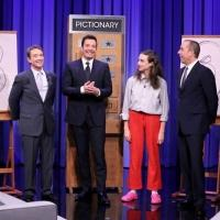VIDEO: Martin Short, Jerry Seinfeld & Miranda Compete in Pictionary on TONIGHT SHOW!