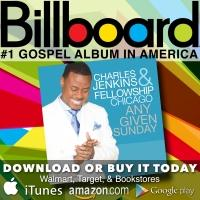 Pastor Charles Jenkins' 'Any Given Sunday' Debuts at No. 1 on Billboard Music Chart