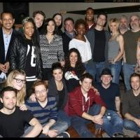 FREEZE FRAME: IF/THEN Cast and Creative Team in the Recording Studio!