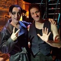 Photo Flash: Dan Mendeloff Celebrates 2,500th Show as Stage Right Props Person at CABARET!