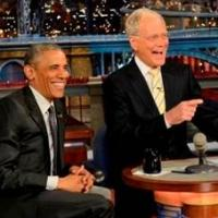 President Obama's Appearance on DAVID LETTERMAN Delivers Ratings Boost