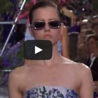 VIDEO: 'CHRISTIAN DIOR' Fashion Show Spring Summer 2014 Paris