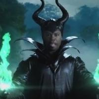 VIDEO: 50 Cent Spoofs Disney's MALEFICENT on Jimmy Kimmel