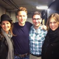 Photo Flash: Rita Wilson and Nia Vardalos Visit BUYER & CELLAR
