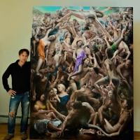 Painter James Van Fossan Unveils DRAMA MAGNIFICO