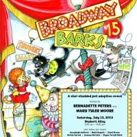 Woof! BROADWAY BARKS! Takes Place Today, Starting at 3:30pm in Shubert Alley