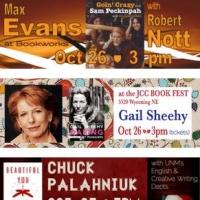 This Week at Bookworks Includes Chuck Palahniuk at UNM, Art on Cape May, NM Book of the Dead with Ray John de Aragon and More