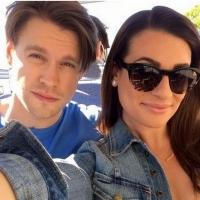Photo Flash: Lea Michele Tweets Pics from GLEE's 700th Musical Number; Teases 'It's About Love'
