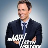 FIRST LOOK - Key Art for NBC's LATE NIGHT WITH SETH MEYERS