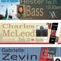 This Week at Bookworks with Hester Bass, Gabrielle Zevin, and More!