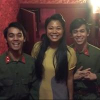 STAGE TUBE: MISS SAIGON Revival Cast & Crew Says 'Happy Anniversary'