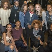 Photo Flash: Rosie's Theater Kids Visit AFTER MIDNIGHT