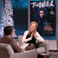 VIDEO: INTO THE WOODS' Meryl Streep Talks Witchy Role, Shares New Clip on Today's GMA