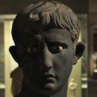 British Museum Displays MEROE HEAD OF AUGUSTUS