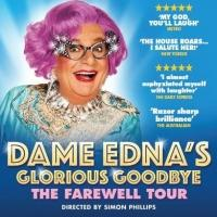 See Dame Edna for a special preview performance price of $30