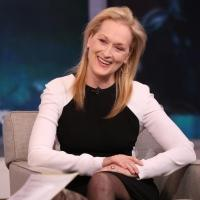 Photo Flash: INTO THE WOODS Star Meryl Streep Visits Today's GMA