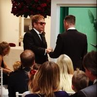 Photo Flash: Elton John & David Furnish Share Wedding Photos!