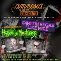 Dimitri Vegas & Like Mike Announce Full Line-Up for Ibiza Summer Residency at Amnesia