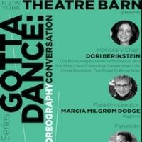 Brown, Daniele, Hunter, Knechtges, Prince & More Set for New York Theatre Barn's 'GOTTA DANCE' Choreography Panel, 5/3
