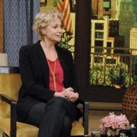 Photo Flash: Jane Lynch Talks ANNIE on 'Live'