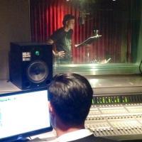 GLEE's Michele, Salling Hit Recording Studio for Milestone 100th Episode