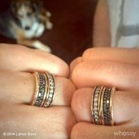 PHOTO: Newlywed Lance Bass Shares Wedding Bling on Instagram