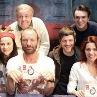Photo Coverage: Sting and THE LAST SHIP Company Sign Cast Albums at the Neil Simon Theatre!