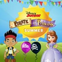 Disney Jr's PIRATE AND PRINCESS SUMMER Returns 6/27