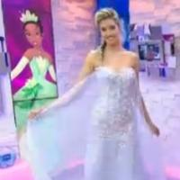 VIDEO: First Look at Disney's FROZEN-Inspired Wedding Gown