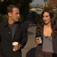 Singer Songwriter Sara Bareilles Visits CBS SUNDAY MORNING Today