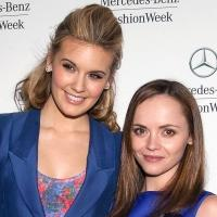 Fashion Photo of the Day 2/9/13 - Maggie Grace & Christina Ricci