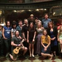 Photo Flash: Judd Apatow Visits the Cast of Broadway's ONCE