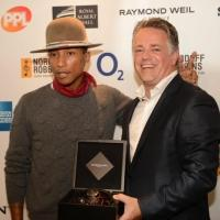 Pharrell Williams Receives the RAYMOND WEIL International Artist Award
