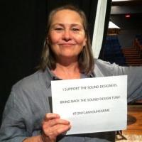 Photo Flash: Cherry Jones, Jefferson Mays & More Join the #TonyCanYouHearMe Movement