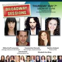 Constantine Maroulis and More Celebrate BoCo at BROADWAY SESSIONS Tonight