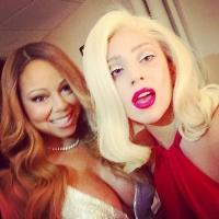 Lady Gaga Shares Epic Selfie with Mariah Carey on Instagram