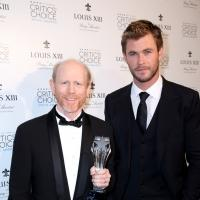 Chris Hemsworth Presents Critics' Choice Louis XIII Genius Award to Film Icon Ron Howard