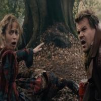 BWW TV: First Look - James Corden & Emily Blunt Meet The Witch in New INTO THE WOODS Clip!