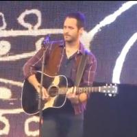 STAGE TUBE: ONCE's Declan Bennett Performs 'Say It To Me Now' at WEST END LIVE 2013!