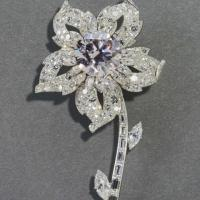 Queen's Diamond Wattle Brooch Now On Display at Sydney Powerhouse Museum
