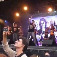 STAGE TUBE: ROCK OF AGES Sets World Record For Largest Air Guitar Ensemble at WEST END LIVE 2013!