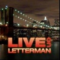 David Gray & More Set for LIVE ON LETTERMAN Concert Webcasts