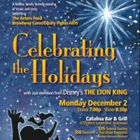 Disney's THE LION KING Celebrates the Holidays with BC/EFA Benefit Today