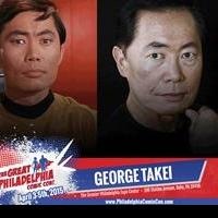 George Takei Participates in The Great Philadelphia Comic Con: Star Trek Reunion, 4/3