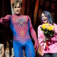 Photo Flash: SPIDER-MAN Cast Celebrates Super-Fan Christine Antosca