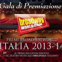Premi BroadwayWorld 2013-14: novità dal Presidente di Giuria