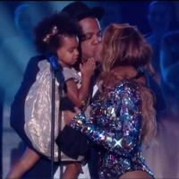 VIDEO: Jay Z, Blue Ivy Present Beyonce with VMA Vanguard Award