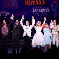 Photo Coverage: HONEYMOON IN VEGAS Company Takes Opening Night Bows!