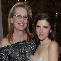 Photo Flash: Meryl Streep, Anna Kendrick, and More Celebrate Disney's Golden Globe Nominees